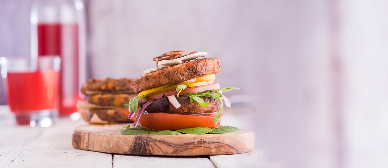Luxury Vegan Burger