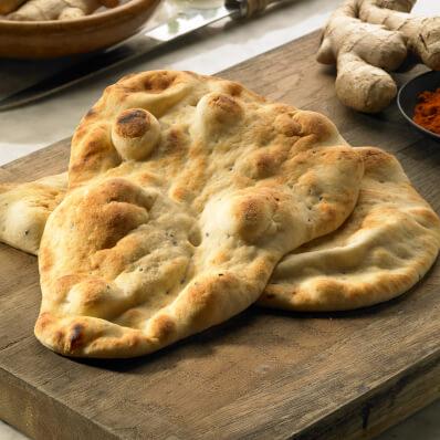 Large Plain Naan Bread