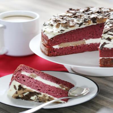 Red Velvet Ganache Cake