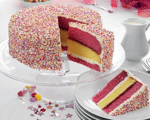 Angel Sparkle Cake