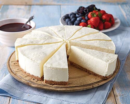 Luxury Cold-Set Cheesecake