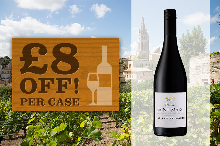 Saint Marc Cabernet Special Offer