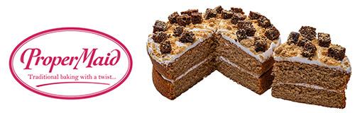 ProperMaid Logo and Cake